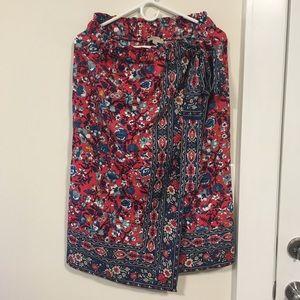 Loft Outlet floral skirt